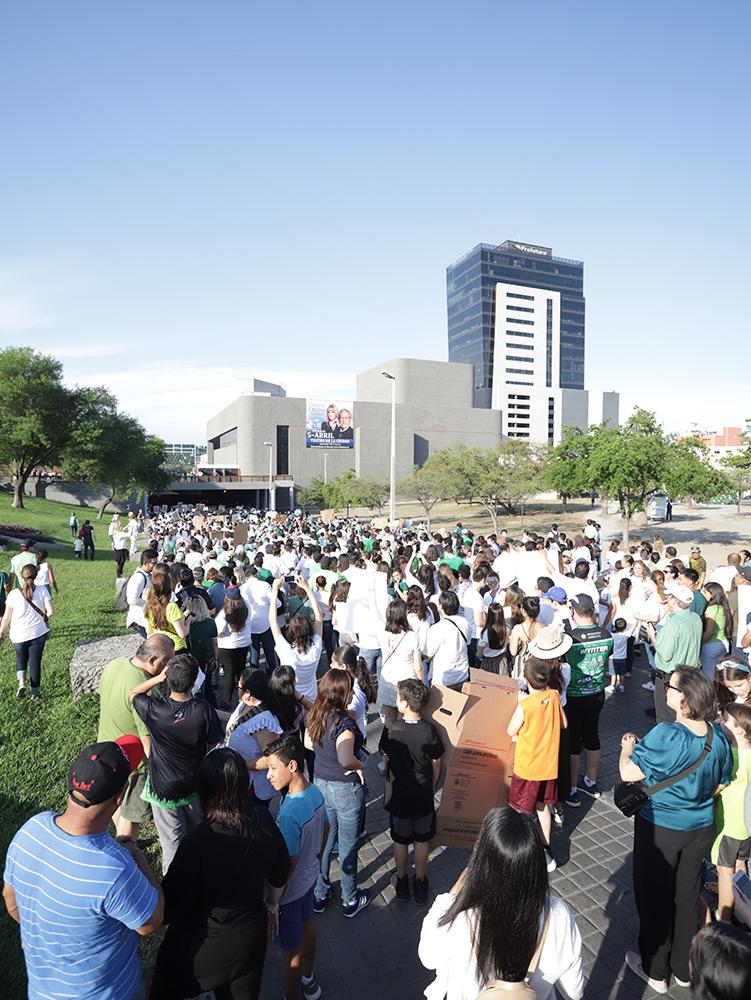 Yo Respiro Monterrey Marcha 2019 Macroplaza