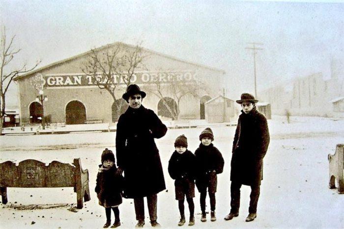 Nevada en Monterrey diciembre de 1925