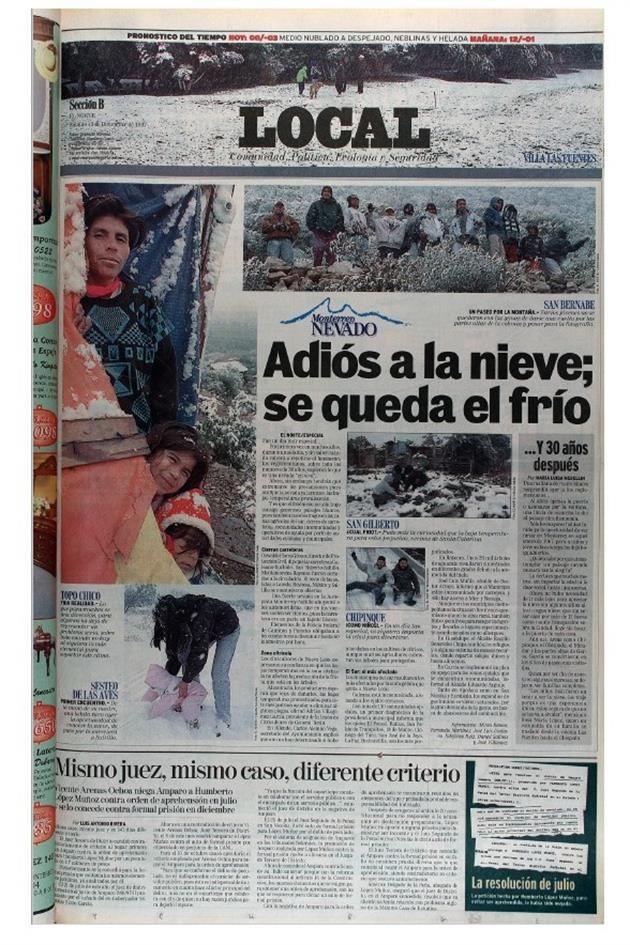Nevada en Monterrey en 1997