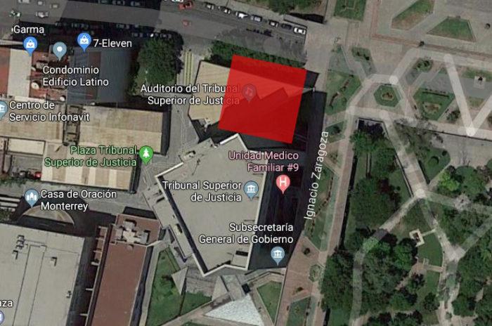 mapa teatro juarez