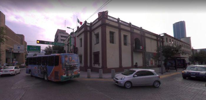 Espacio en el que se encontraba el Templo de San Francisco y Convento de San Andrés.